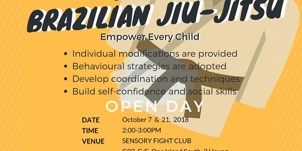 Brazilian Jiu Jitsu for Special Needs Children