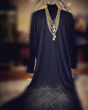Rutile Quartz Layered Necklace