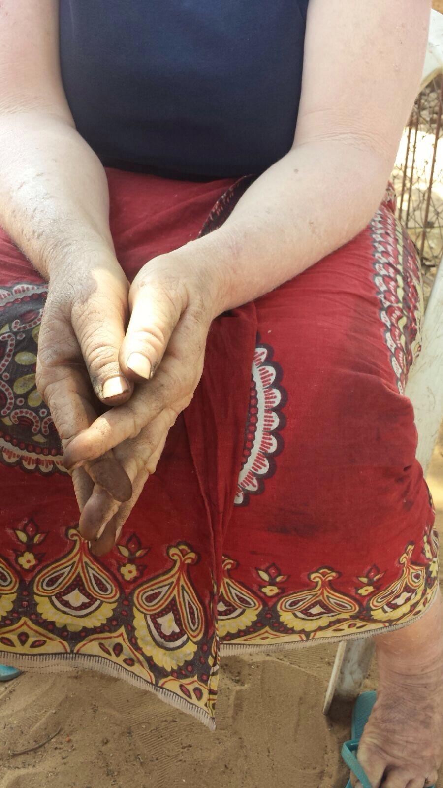 manos de Susana