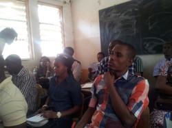 Más participantes del seminario