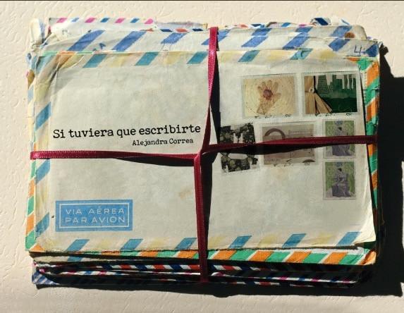 Portada de Si tuviera que escribirte, poemas en postales