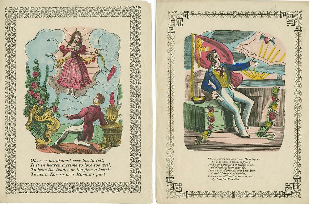 Cartas de amor del día de San Valentín