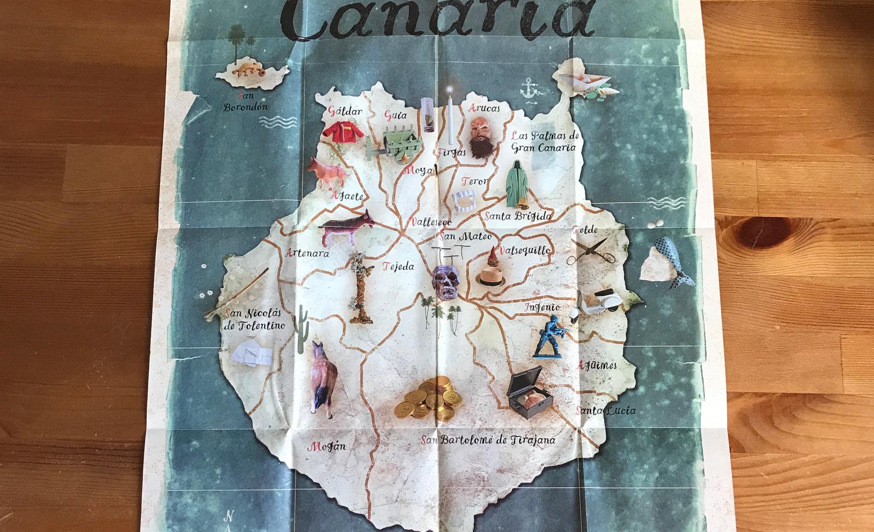 ilustración del mapa