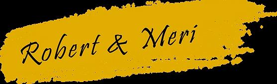 Meri Khojayan and Robert Poortinga