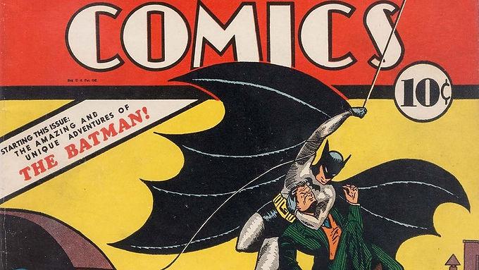 Banda desenhada do Batman atinge valores extraordinários