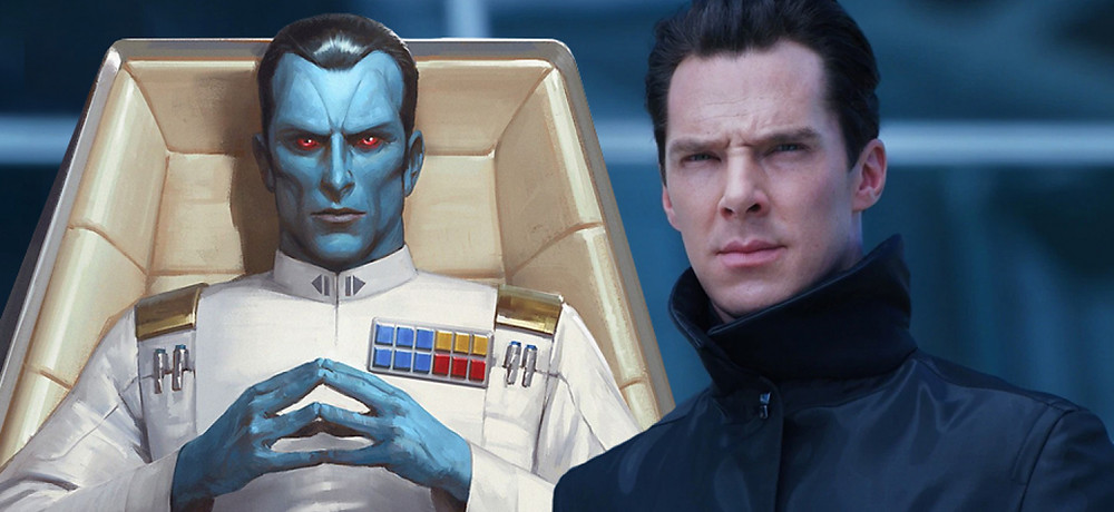 Benedict Cumberbatch Grand Admiral Thrawn