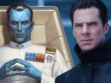 Star Wars: Benedict Cumberbatch fala da possibilidade de interpretar Grand Admiral Thrawn