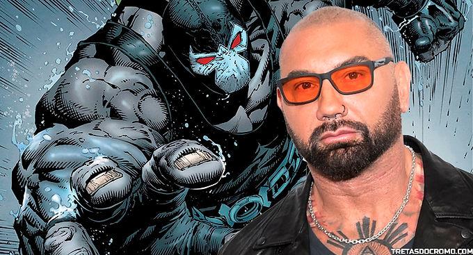 Dave Bautista fui à DC pedir para interpretar Bane