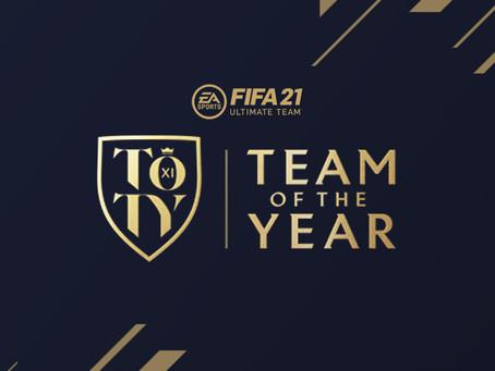FIFA 21: Dois portugueses no 11 da TOTY