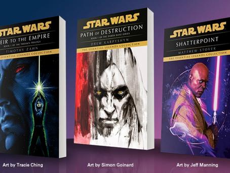 """Star Wars irá relançar livros clássicos """"Legends"""" para o seu 50º Aniversário"""