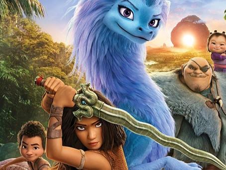 Raya e o Último Dragão anunciado e no Disney+