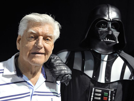 David Prowse, Darth Vader original, morre aos 85 anos