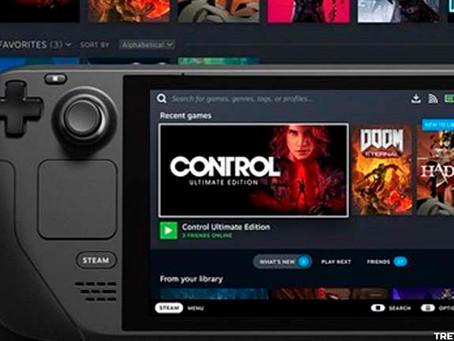 Steam Deck vai rodar todos os jogos da Steam, garante a Valve
