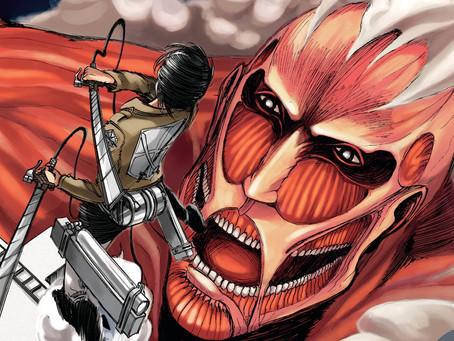 Attack On Titan: Manga recebe data de lançamento