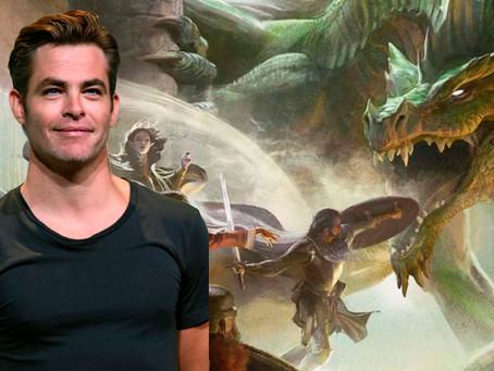 Chris Pine irá estrelar no filme de Dungeons & Dragons