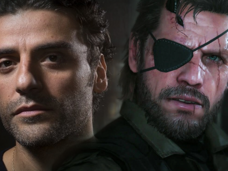 Oscar Isaac vai dar vida a Solid Snake no filme Metal Gear Solid