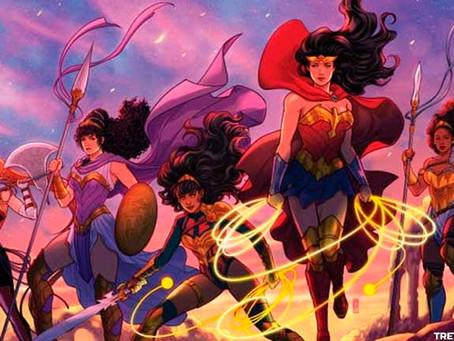 A Mulher Maravilha enfrenta o 'Julgamento das Amazons' - DC FanDome 2021