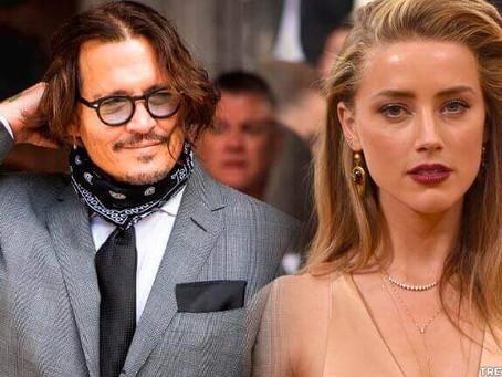 Johnny Depp obtém vitória no caso legal contra Amber Heard