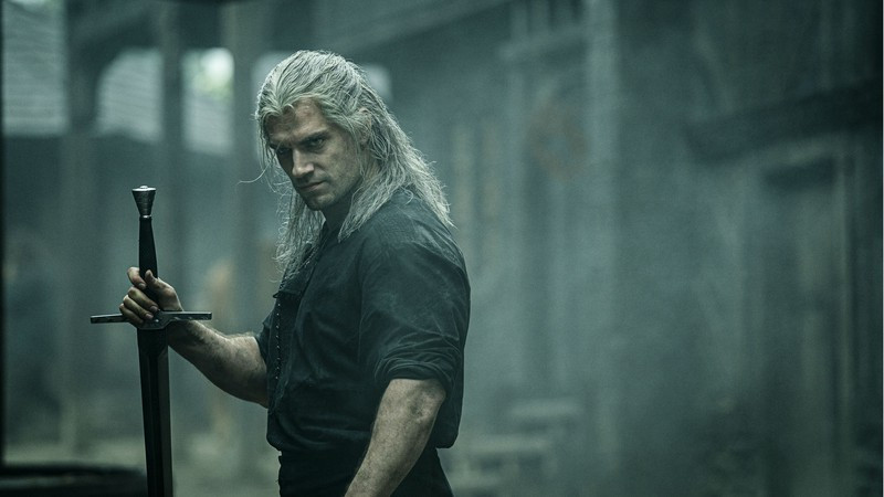geralt of rivia, the witcher, netflix