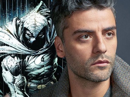 Oscar Isaac apresenta nova Comic na Comic-Con no set de Moon Knight