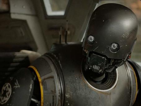 Star Wars Andor: K-2SO não está na série inicialmente