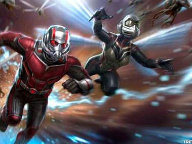 Ant-Man e a Vespa: Quantumania começou a filmar, e diretor partilha foto horripilante