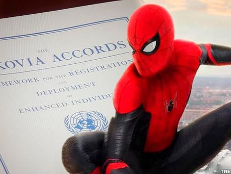 Spider-Man 3 irá finalmente destruir os Acordos de Sokovia