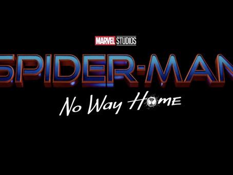 Spider-Man: No Way Home será título do próximo filme