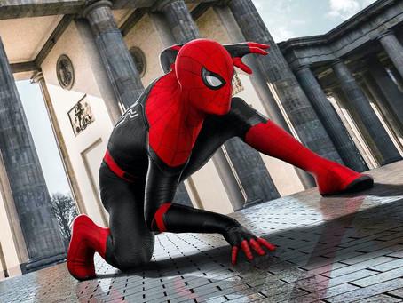 Spider-Man 3: Tom Holland partilha primeira imagem no set