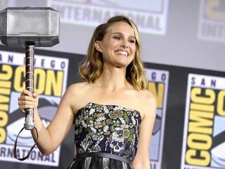 Thor Love and Thunder: Primeiras imagens de Jane Foster como Thor