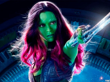 Guardiões da Galáxia: Zoe Saldana revela Gamora de Olhos Verdes