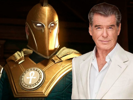 Black Adam: Pierce Brosnan vai interpretar Doctor Fate