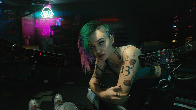Cyberpunk 2077: Cenas de sexo carregadas para o Pornhub