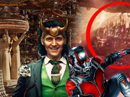 Teoria: A TVA é a cidade secreta no Quantum Realm de Ant-Man