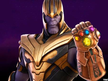 Thanos de regresso ao Fortnite