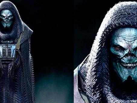 Liga da Justiça: Arte conceptual de DeSaad tem uma certa vibe de Darth Vader