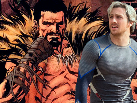 Aaron Taylor-Johnson será Kraven The Hunter, vilão do Sider-Man