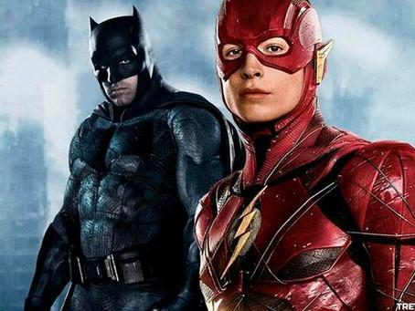The Flash: Novo Vídeo do cenário do filme mostra Batman de mota (Talvez Batfleck)