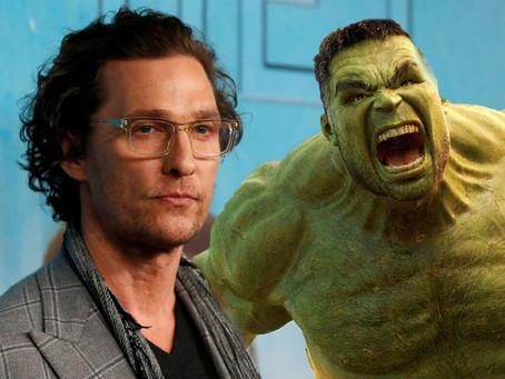 Matthew McConaughey levou nega da Marvel