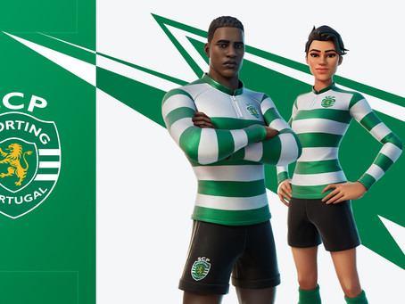 Fortnite: Skin do Sporting Clube de Portugal fará parte do jogo