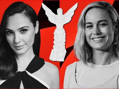 Gal Gadot e Brie Larson vão ser apresentadoras do Game Awards 2020