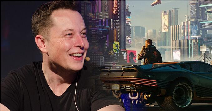 Elon Musk confirma que o novo Tesla corre Cyberpunk 2077