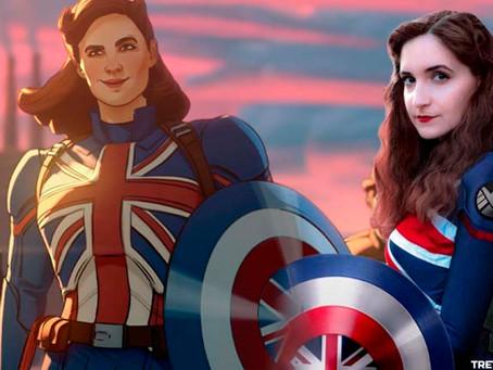 ESPAÇO COSPLAY 🦸🦹 - Captain Carter da Marvel