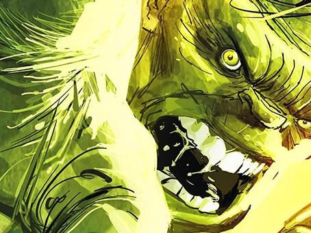 O Hulk acabou de ter a sua transformação mais repugnante
