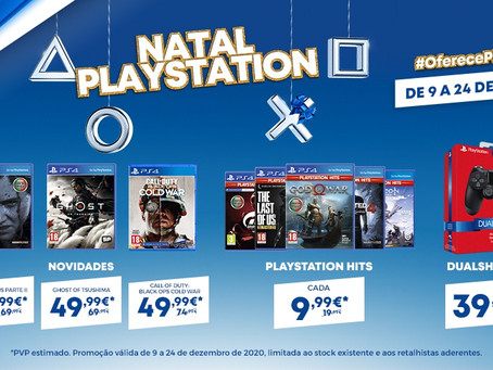 Campanha Natal Playstation chega às lojas