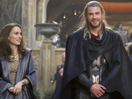 Natalie Portman está preocupada em atuar ao lado de Chris Hemsworth