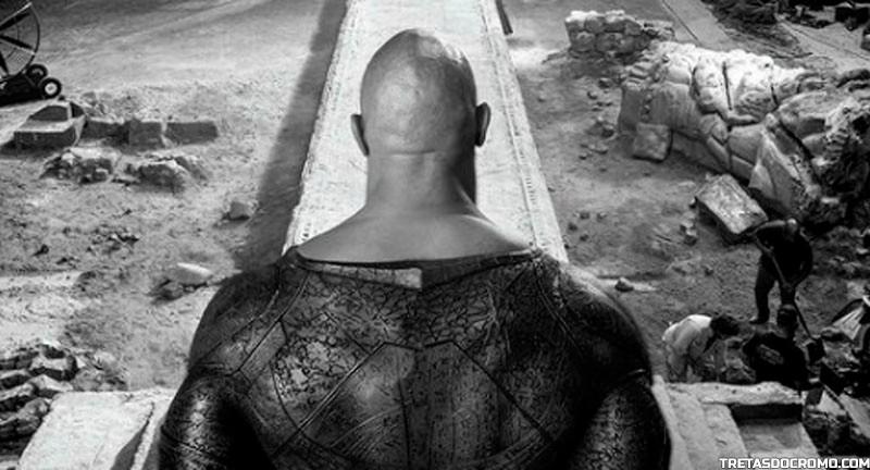 black adam adão negro the rock