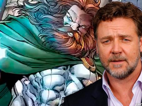Thor: Love and Thunder Vai Ter Russell Crowe a lançar relâmpagos como Zeus