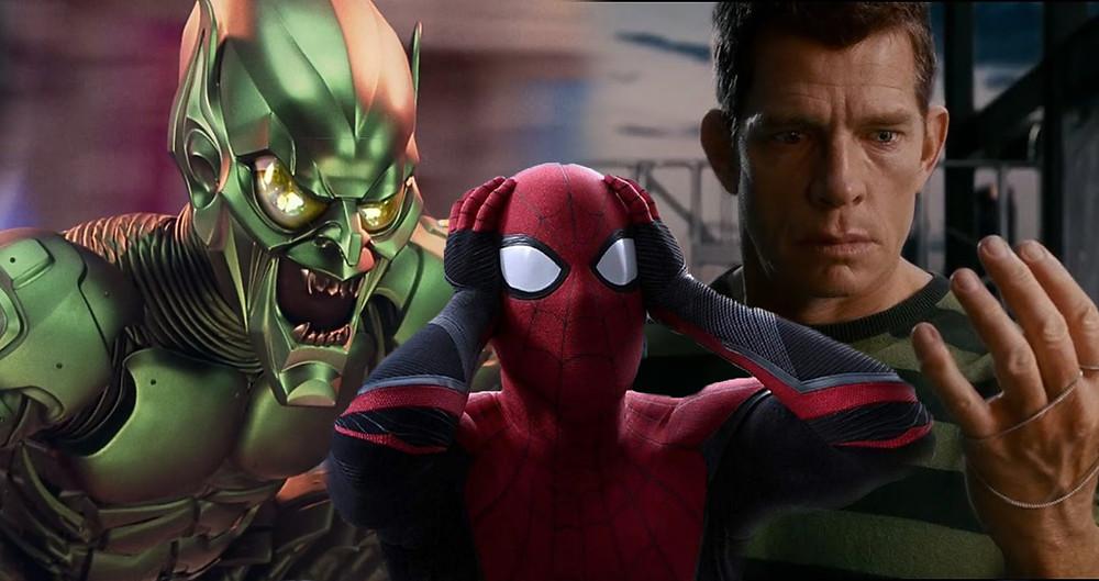 spider-man 3 green goblin sandman