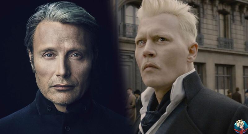 Mads Mikkelsen substitui Johnny Depp oficialmente